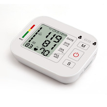Family Health Care Arm Blood Pressure Monitor Automatic Heart Beat Meter Electronic