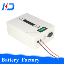 Portable deep cycle electric bike batteries 48v 20ah 1000w lifepo4 with BMS USB port charger