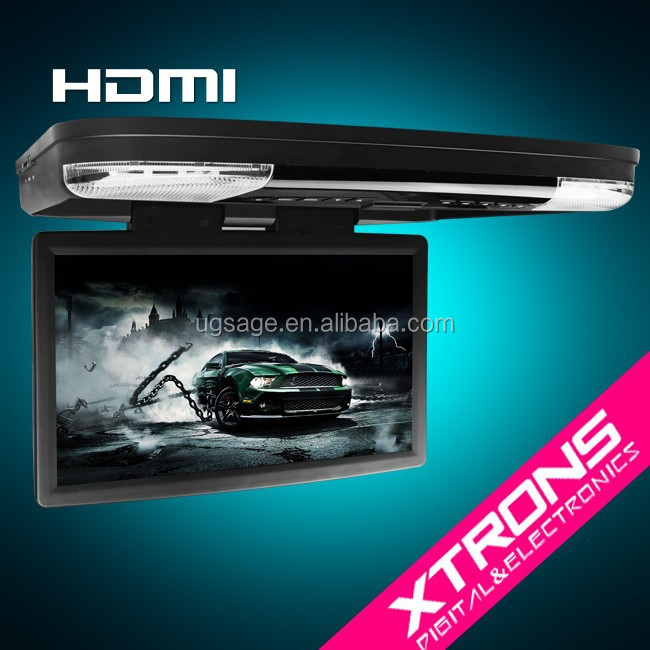 "Xtrons CR1506 15.6"" DVD Roof HDMI full HD wide screen Ultra-clear 1080P Video Enjoyment"