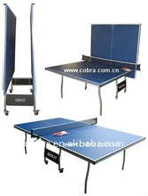 Foldable and movable ping pong table in sports and entertainment