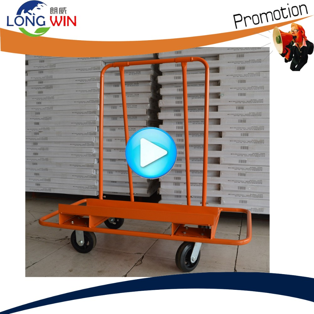 Drywall sheet mover cart heavy board trolley for 1000lbs for Drywall delivery cost