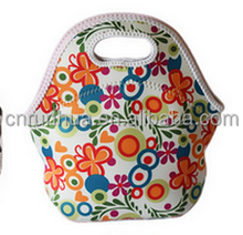 Neoprene Lunch Tote Insulated Reusable Picnic Lunch cooler bag
