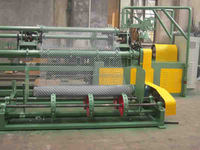 weaving chian link mesh automatic,Fully automatic chain link fence machine