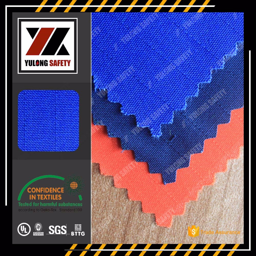 YULONG Woven Modacrylic Protex Fire Proof Fabric