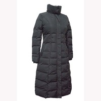 Woman Fashion Down Feather Coat Padded