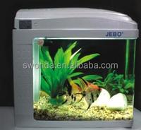 OEM design unique fish tank ecology aquarium with pump and light