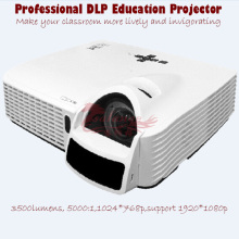 1024*768P Hologram Projector Ceiling Ultra Short throw DLP Interactive Projector 3500Lumens Support 1920*1080p by salange
