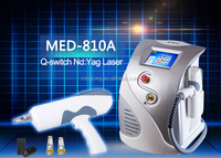 medical clinical beauty machine laser tatoo removal pigment and scar removal
