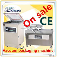 hot selling stretch film seafood vacuum packing machine for supermaket SH-400/2SA