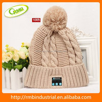 hot sale blue tooth crocheted hat(RMB)