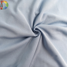 100% Polyester blue color jersey interlock knitted cooldry & UPF 50+ Industrial Grade antistatic fabric