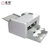 automatic feeder name card cutter