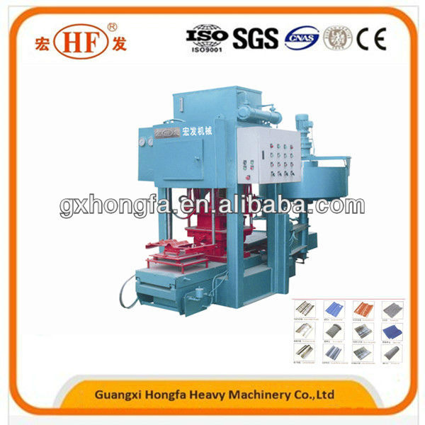 SMY8-150 concrete tile making machine,concrete tiles manufacturer,machine for making concrete roofing tile