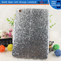 Luxury Bling Diamond ID Card Slot Folio Pu Wallet Case Cover For iPad mini 2