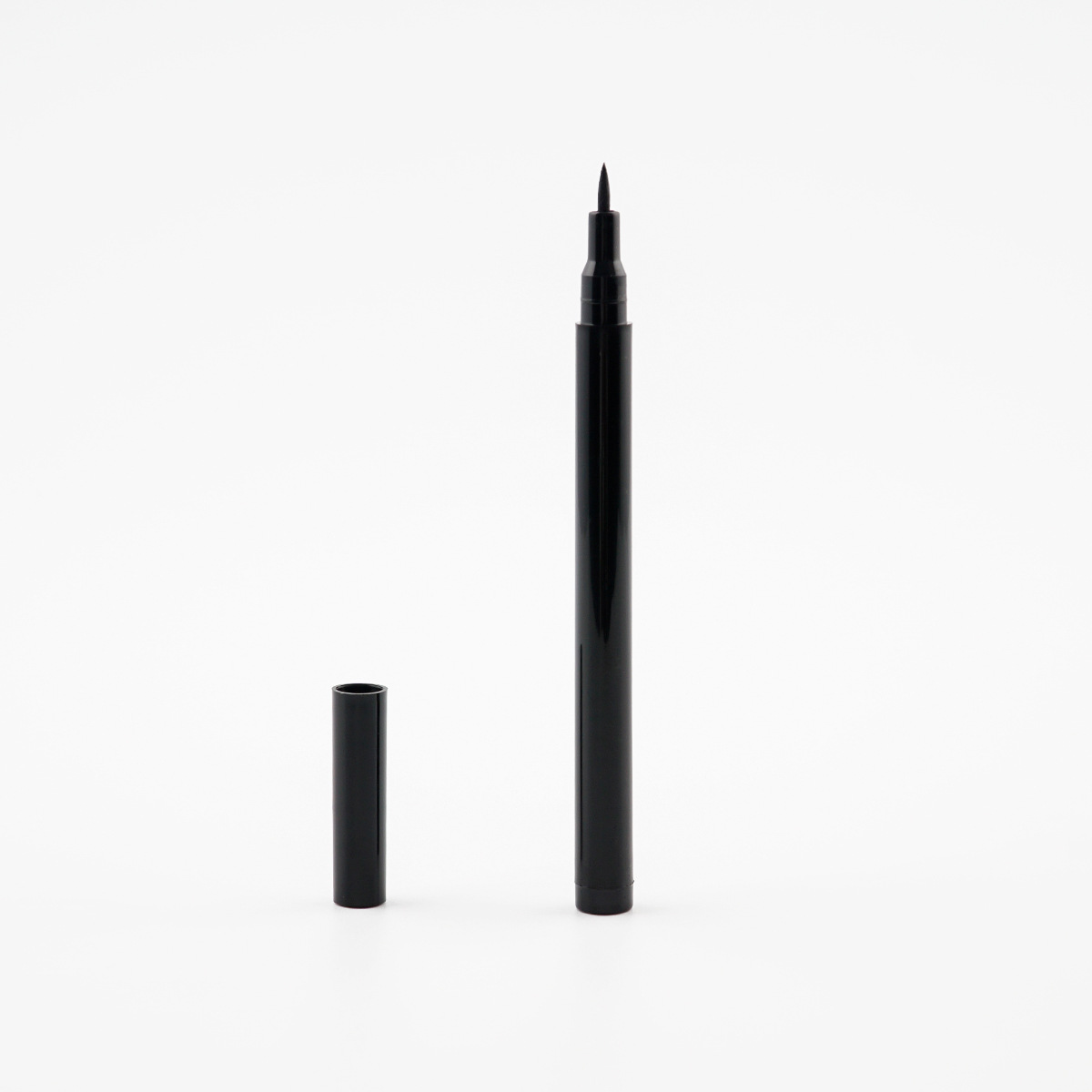 WENLE Competitive Price Plastic Empty Black Eye Liner Pencil Tube Eyebrow Eyeliner Pencil Container