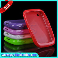 Silicone case tpu protective case for blackberry 8520 8530 9300