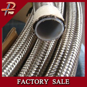 SAE 100 R14 SAE 100 R14 PTFE Teflon Hose with Stainless Steel Hose with Stainless Steel