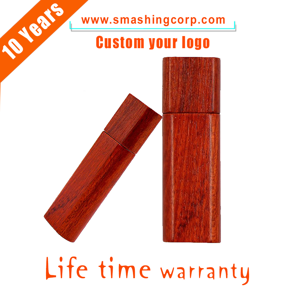 Wholesale Buy free LOGO custom Wooden USB Flash Drive Memory Stick pendrive 8GB 16GB oem wooden usb pen driver for wedding gift