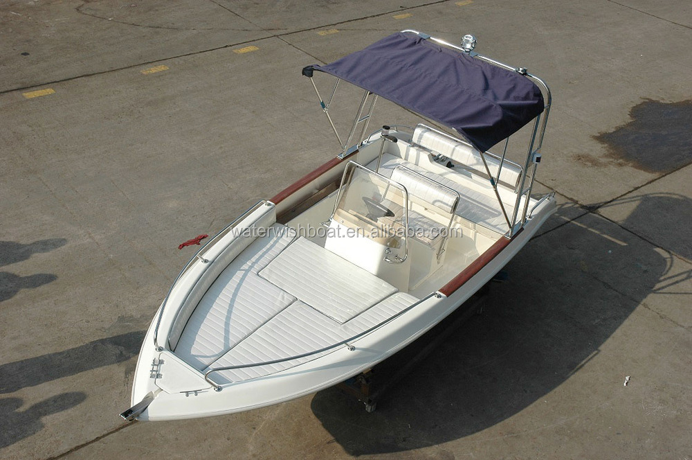 Waterwish Qd 16 Ft Small Center Console Boat Dinghy 4 83m