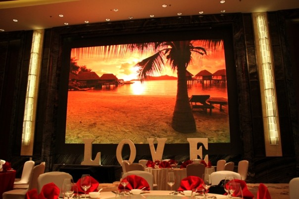 Advertising screen best price HD indoor P3 full color led tv screen