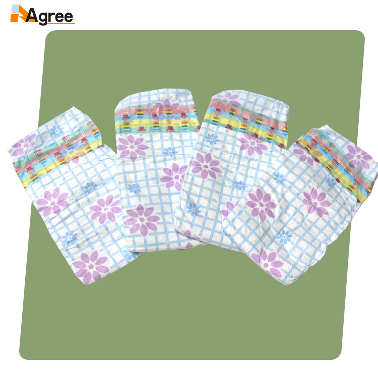 A Grade Disposable Clothlike Magic Tape Wholesable Disposable Baby Diapers