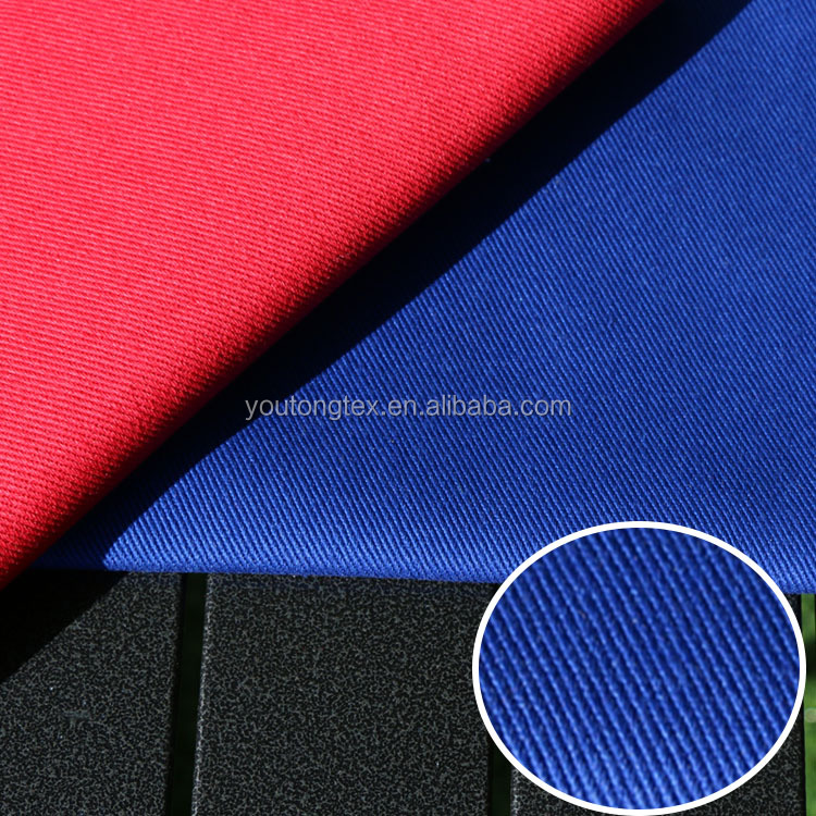 Flame retardant fabric with pure cotton