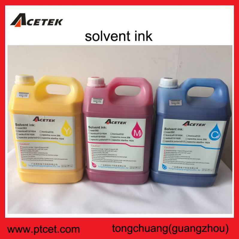 Industrial myjet xaar proton 382 35pl head solvent oil based printer ink