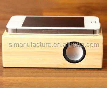 wireless wood magic induction speaker boom speaker gift speaker