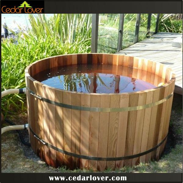 Chine spa baignoire bois de c dre baignoire spa id de produit 500002959987 fr - Baignoire ronde en bois ...