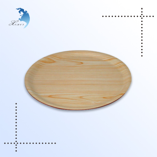 Wholesale eco-friendly blank cheap wooden plates in Chian for restaurants
