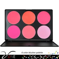 New Professional 6 Colors Blusher Blush Palette your own brand makeup