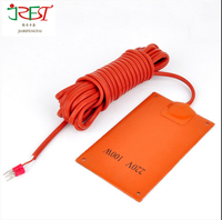 Hot sale high quality 12 v Silicone Electric Heating flexible Pads with digital controller