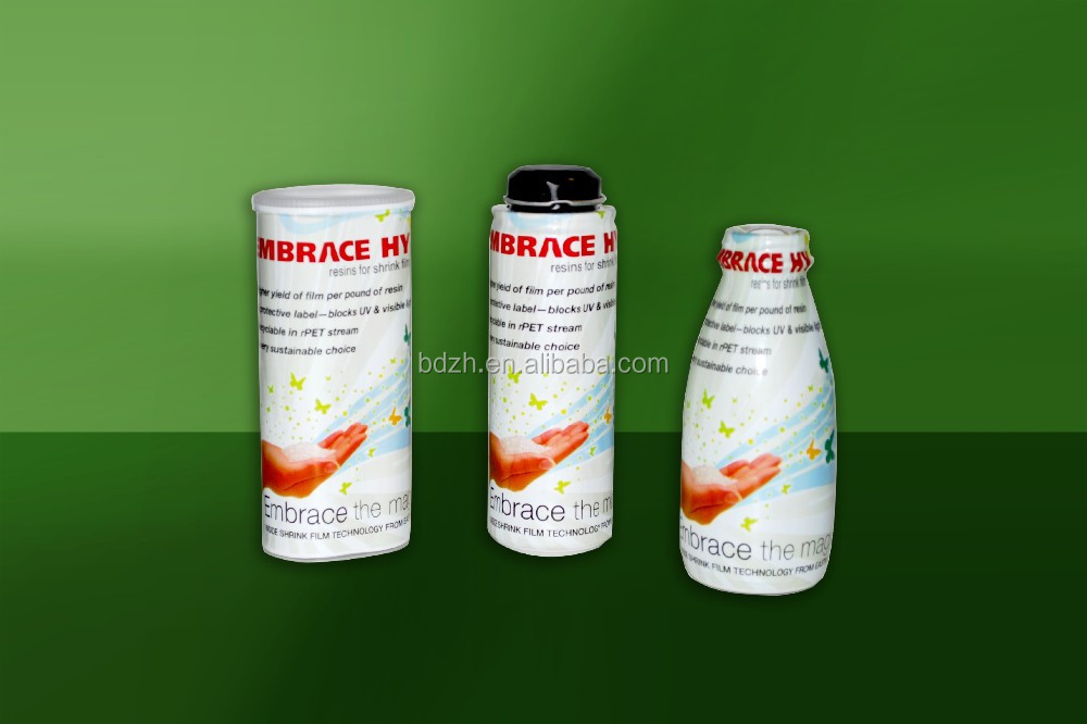 Shrink sleeve labels/Custom colorful PVC heat shrink film for bottle packing/pvc shrink film for sleeve application