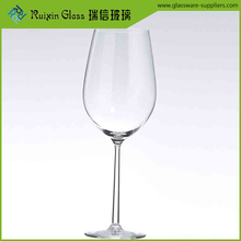 Best quality crystal banquet wine glasses fancy wine glass for party