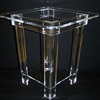 nice persper great design clear acrylic table with legs factory price