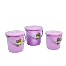 2017 New design modern champagne plastic bucket