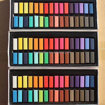 10mm*10mm*30mm Temporary 32 Colors Hair Chalk