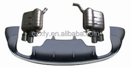 Rear diffuser with exhaust for Audi Q5' 12