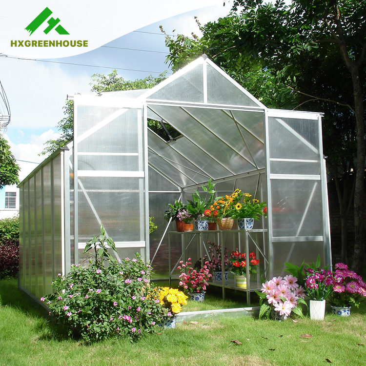 Homely Garden Polycarbonate Commercial Greenhouse HX65120series