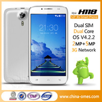 Good cheap Stable Quality 5inch dual core FWVGA IPS Screen cell phone