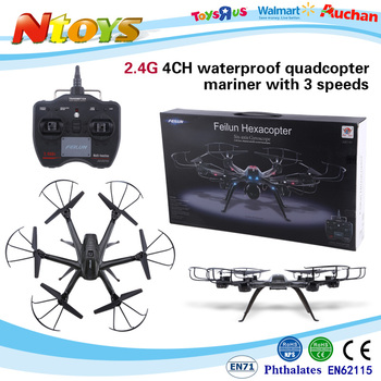 2.4g 4CH waterproof quadcopter mariner with 3 speeds