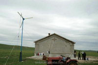 50W Small generator wind turbine, small wind power generator for home use