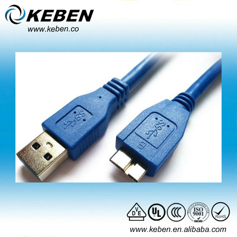 Best quality fast speed 1M long micro usb 3.0 transfer data cable