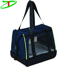 Professional Quanzhou Factory Pet Travel Carry Tote Custom Cheap Dog Carrier Bag With Shoulder Strap