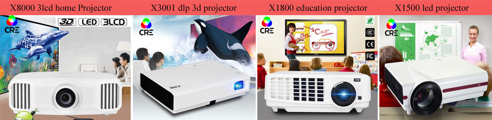 Beamer full hd 1080p 3d led projector 4k support 4096*2160