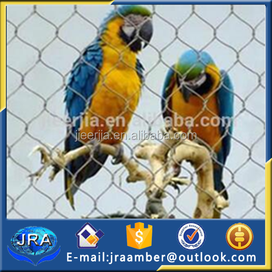 zoo bird cages stainless steel aviary mesh/netting