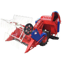 Newest factory price good quality mini combine harvester
