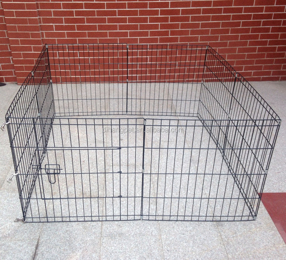 China Large square metal pet playpen dog exercise pen