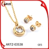Cheap Bulk Christmas Gifts Jewelry New Product Gold Jewelry Set