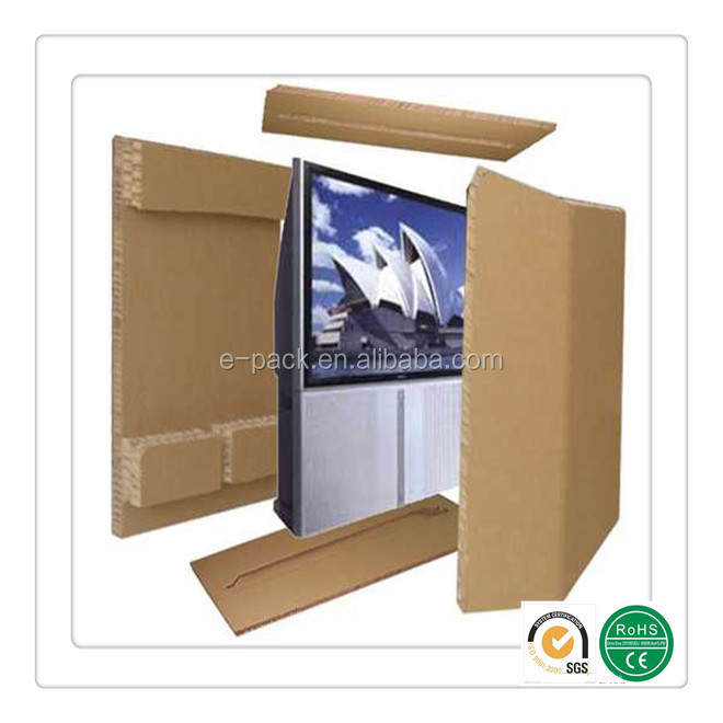 Replacement of foam packaging,eco-friendly honeycomb packaging for LCD monitor